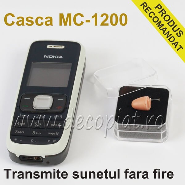 Casca de Copiat MC1200 si Telefon de Copiat