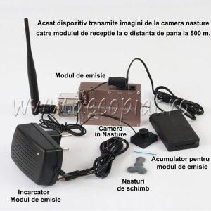 Microcamera PX150 si Cutiuta GSM