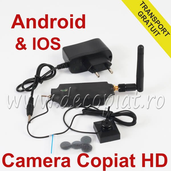 Camera de Copiat WiFi in Nasture