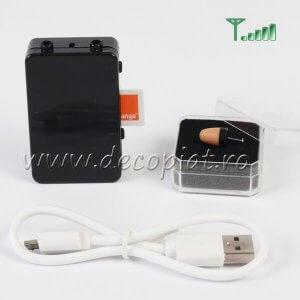 Casca Copiat MC2000 si Cutiuta GSM