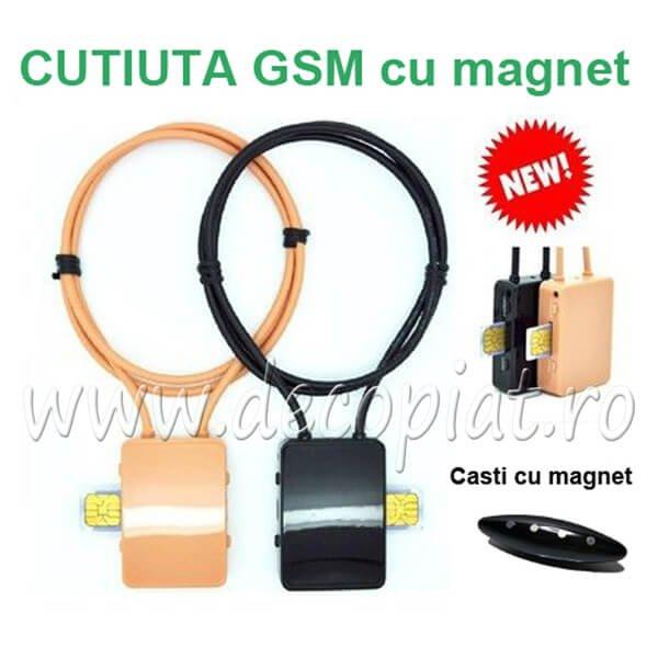 Cutiuta GSM si Microvibratii
