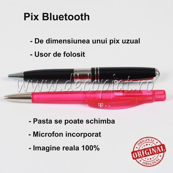Pix de Copiat Bluetooth si Microcasca