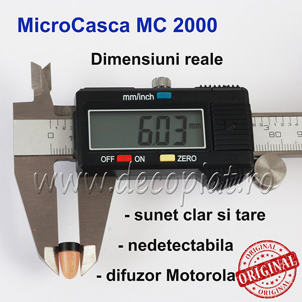 Microcasca Copiat MC2000